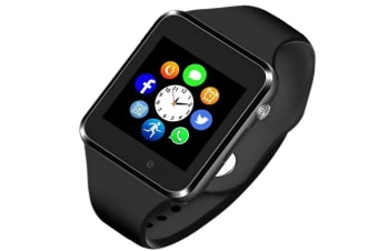 Smart Watch Bluetooth Touchscreen Smart Wrist Watch Smartwatch Phone Fitness Tracker with SIM SD Card Slot Camera Pedometer Compatible iOSAndroid