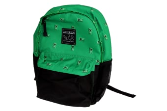 Minecraft Official Childrens/Kids Creeper Swarm Backpack (Green)