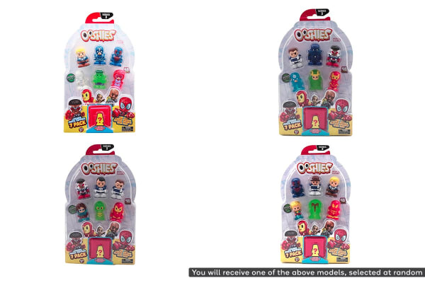 Ooshies Marvel Assorted 7 Pack S3
