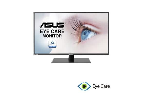 ASUS VA32AQ Eye Care Monitor - 31.5 inch, 2K, IPS WQHD (2560x1440), Flicker Free, Blue Light Filter, SuperSpeed USB Charger