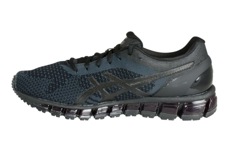 new concept bbcb7 550f2 ASICS Men's Gel-Quantum 360 KNIT Running Shoe (Black/Onyx/Dark Grey, Size 8)