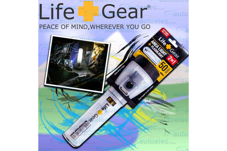 Life Gear Led Floating Torch Camping Emergency Rescue Light Lamp Lantern Lg021