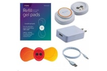 iTENS Small Wings kit T.E.N.S App enabled Electrotherapy -The Worlds first wearable pain relief -