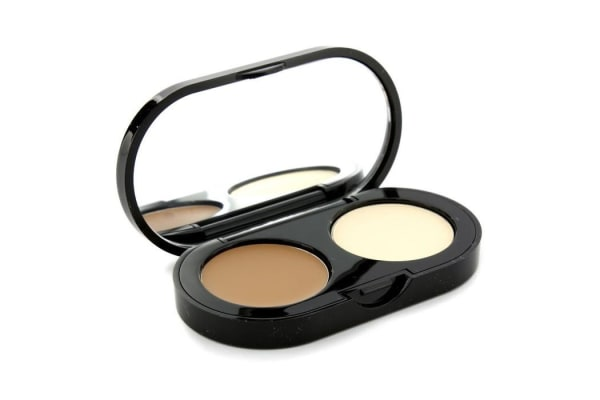 Bobbi Brown New Creamy Concealer Kit - Golden Creamy Concealer + Pale Yellow Sheer Finish Pressed Powder (3.1g/0.11oz)