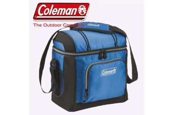 Coleman 30 Can Cooler Bag Day Trip Lunch Car Camping Insulated Soft Portable New