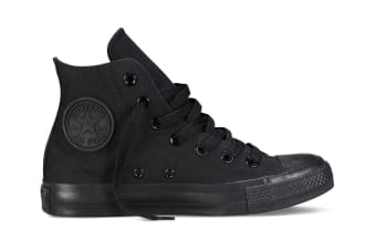 Converse Chuck Taylor All Star Hi (Black Mono, US Mens 11 / US Womens 13)