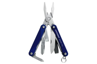 NEW LEATHERMAN SQUIRT PS4 BLUE 9IN1 MULTI-TOOL MULTITOOL SCISSORS KNIFE PLIERS