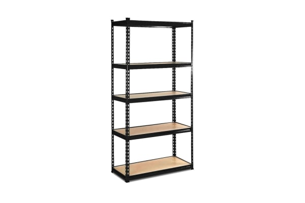 5Tier Shelving Unit (Black)