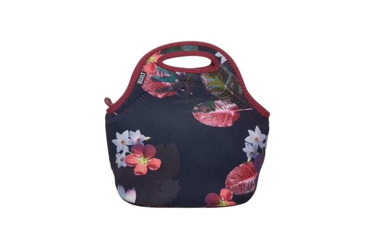 Built NY Gourmet Getaway Lunch Tote Midnight Botanical