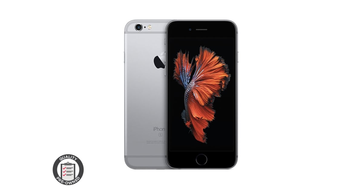 iphone 6 pre owned apple iphone 6s pre owned 16gb space grey kogan 1697