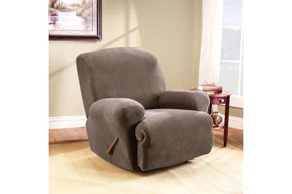 SureFit Pearson Recliner Chair Cover - Taupe