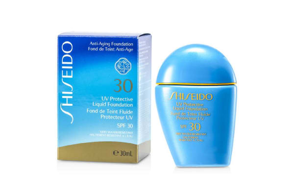Shiseido UV Protective Liquid Foundation - # SP40 Medium Ivory (30ml/1oz)