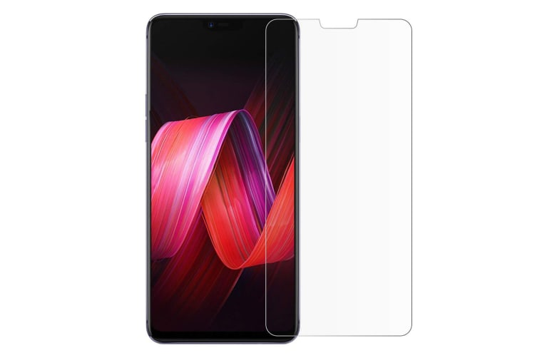 OPPO R15 Ultra Slim Crystal Clear Premium TPU Gel Back Case by MEZON – Shock Absorption, Wireless Charging Compatible – With Screen Protector (R15, Gel)