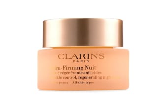 Clarins Extra-Firming Nuit Wrinkle Control  Regenerating Night Cream - All Skin Types 50ml/1.6oz