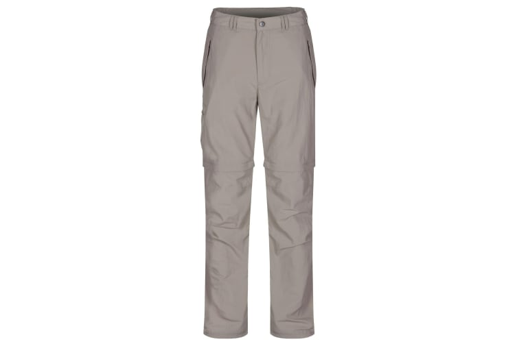Regatta Great Outdoors Mens Leesville Zip Off Trousers (Parchment) (30L)