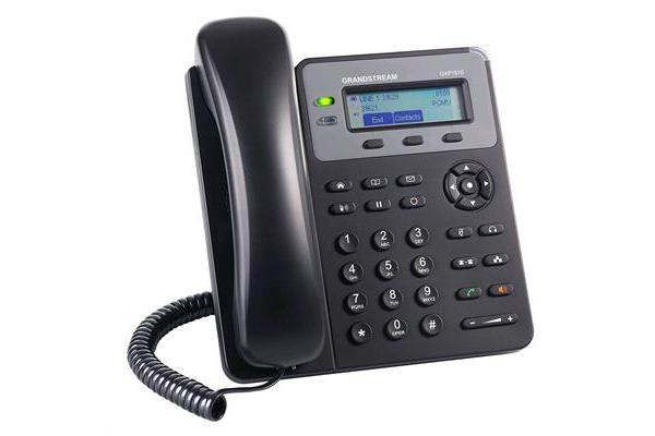 Grandstream Networks GXP1610 HD IP Phone 1-line Hardware