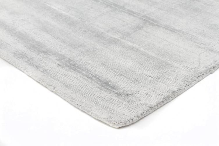 Luxe Modern Distressed Rug Sky Blue 280x190cm