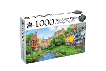 Edinburgh, Scotland, 1000 Piece Puzzle & Sorting Tray