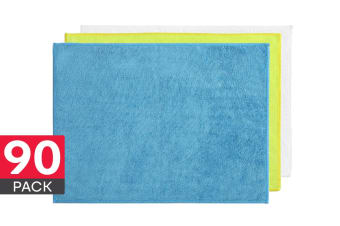Microfibre Washcloths (90 Pack)