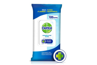 120PK Dettol Anti-bacterial Surface Wipes
