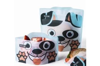 Russbe Snack & Sandwich Bag Set of 4 Dog