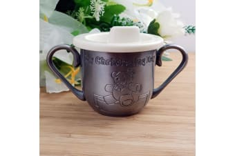 My Christening Day Pewter Toddler Training Cup