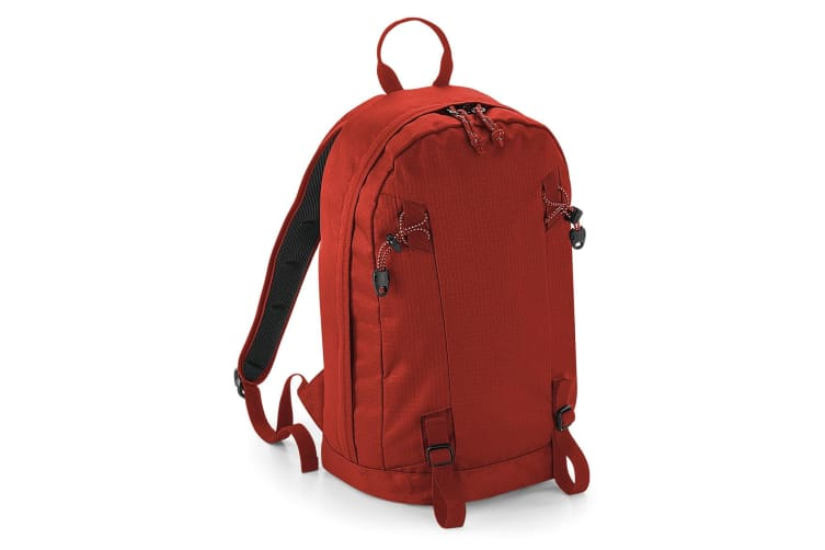 Quadra Everyday Outdoor 15 Litre Backpack (Burnt Red) (One Size)