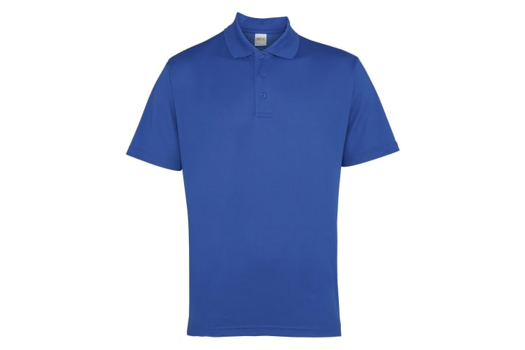 RTY Workwear Mens Short Sleeve Performance Polo Shirt (Royal) (3XL)