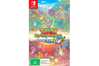 Pokemon Mystery Dungeon Rescue Team DX (Nintendo Switch)