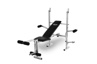 Genki Weight Bench Press Equipment Station Home Gym