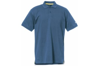 Caterpillar Mens Classic Short Sleeve Polo Shirt (Niagara)
