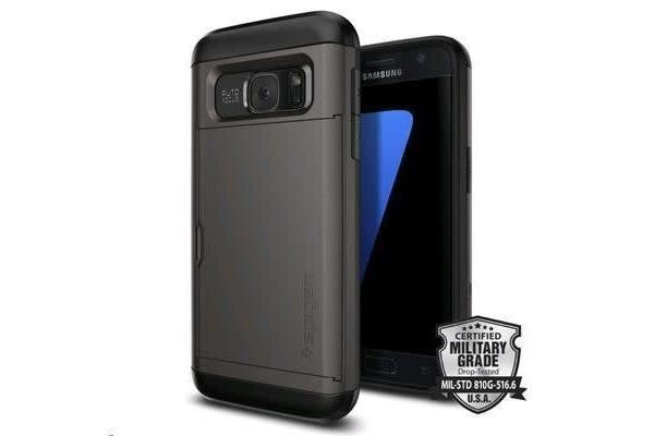 Spigen Galaxy S7 Slim Armor CS Case- Gunmetal