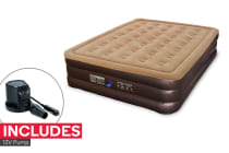 Komodo Double Height Queen Air Bed with Pump