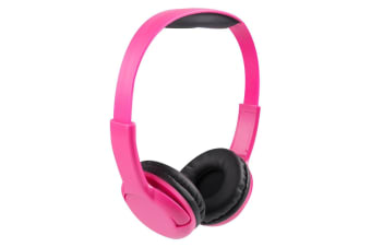 Vivitar Kids Tech Stereo Wired Headphones - Pink