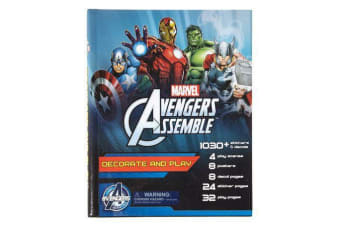 Decorate & Play Marvel Avengers