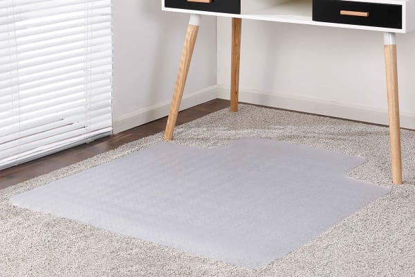 Ergolux Chair Mat for Carpeted Floors (135 x 114cm)
