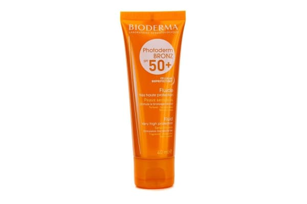 Bioderma Photoderm Bronz Very High Protection Fluid SPF50+ (For Sensitive Skin) (40ml/1.33oz)