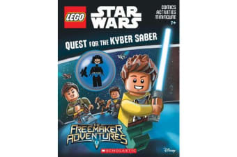LEGO Star Wars - Quest for the Kyber Saber Activity Book with Minifigure