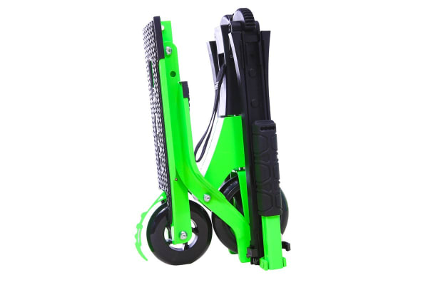Go Skitz Tour Folding Scooter with Backpack Green