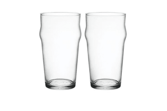Bormioli Rocco Nonix Pint Glass 580ml Set of 2