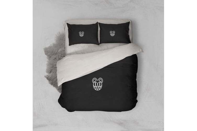 3D Band Radiohead Quilt Cover Set Bedding Set Pillowcases 62-King