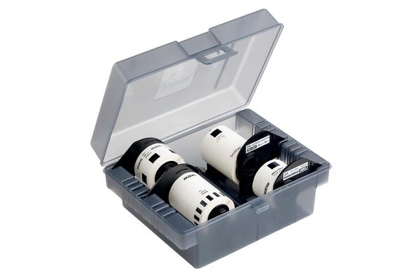 Brother 4 Roll  tarter Pack W/Storage Box,62MM, 24MM Rolls