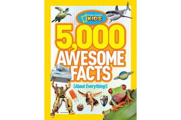 Image of 5,000 Awesome Facts (About Everything!)