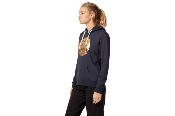 Saucony Run Your World Circle Hoody Jumper (Navy, Size M)