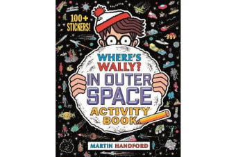 Where's Wally? In Outer Space - Activity Book