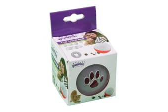 Pawise Cat Treat Ball (Clear) (One Size)