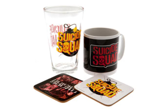 Suicide Squad Official Gift Set (Multicoloured) (One Size)