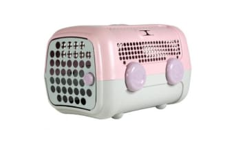 United Pets A.U.T.O. Pet Carrier Pink Taupe