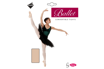 """Silky Womens/Ladies Dance Ballet Tights Convertible (1 Pair) (Ballet Pink) (Small (4ft11""""-5ft4""""))"""