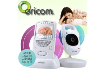 "NEW ORICOM SECURE 710 2.4"" BABY BABIES MONITOR DIGITAL WIRELESS VIDEO 3YR WTY"
